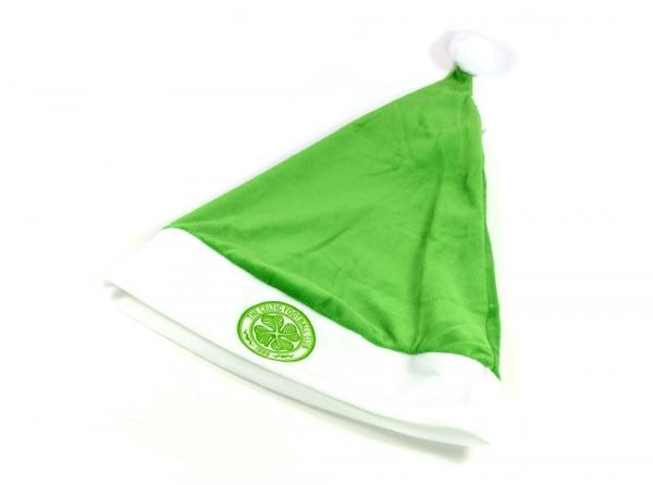 Santa Hat Father Christmas Football Soccer Gift Fan Cap