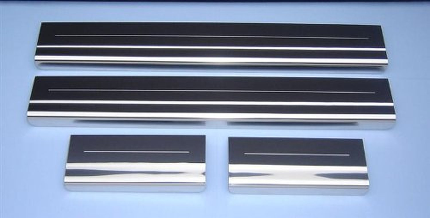 Ford c max polished stainless steel door sill