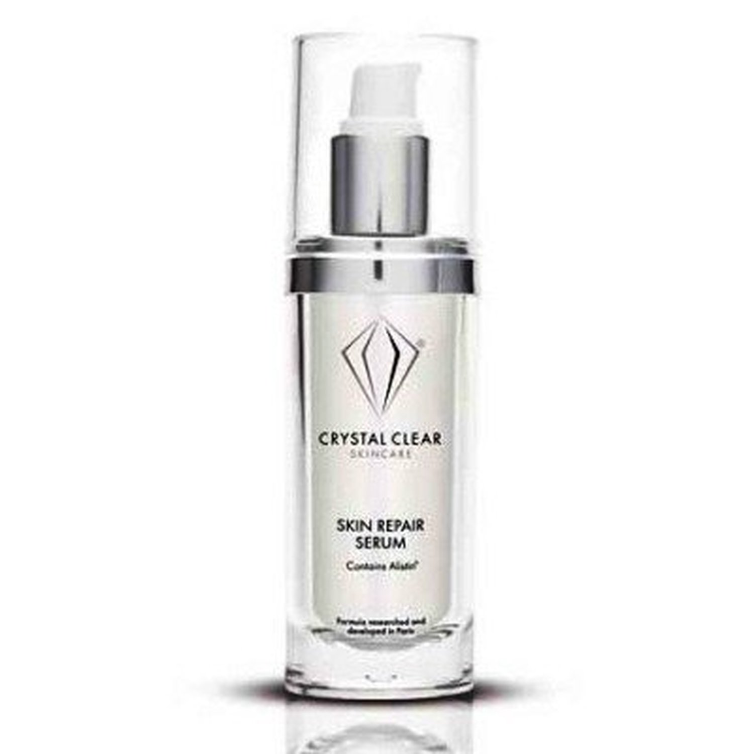 crystal clear skincare skin repair serum 120ml falten zu reduzieren straffe haut ebay. Black Bedroom Furniture Sets. Home Design Ideas