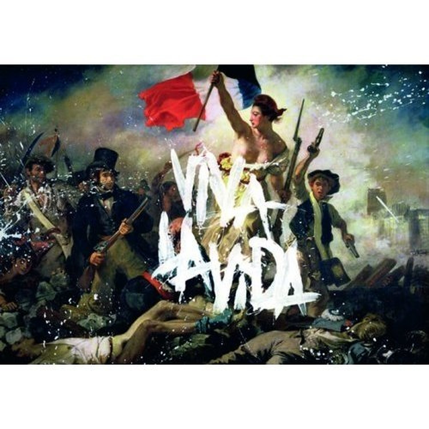 Coldplay Viva La Vida Postcard Album Cover Image Picture