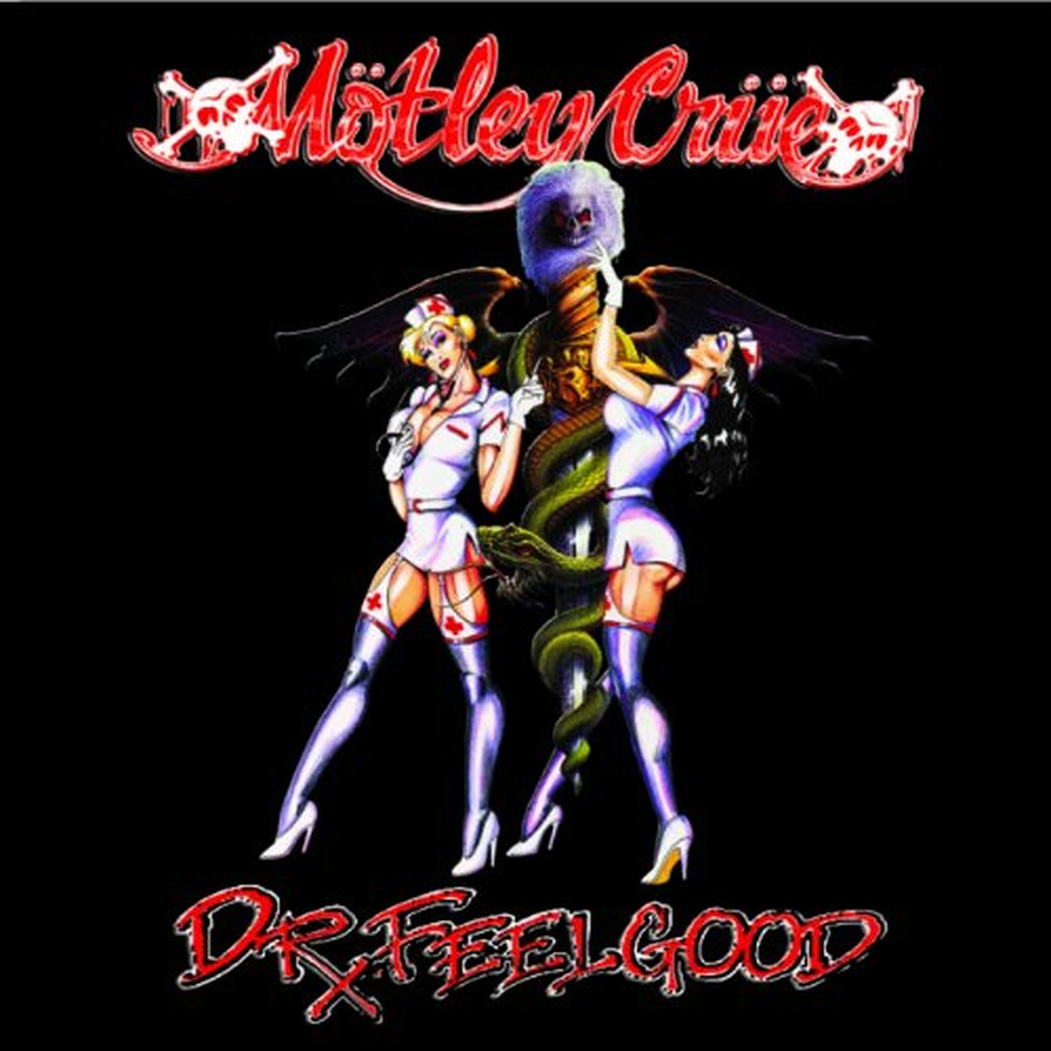 Motley Crue to Release 'Dr. Feelgood' 30th Anniversary ... |Doctor Feel Good Art