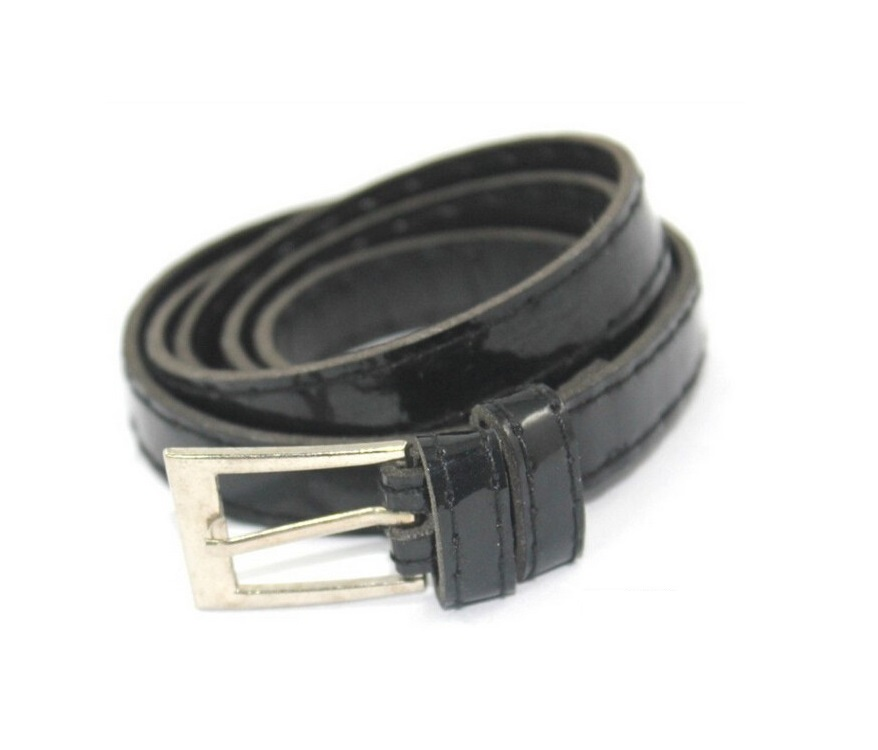black womens leather belt fashion