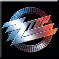 ZZ Top Metal Steel Fridge Magnet Circlo Logo Album Cover Gift Fan Official
