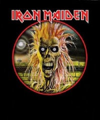 Iron Maiden Zombie Sew On Back Patch Badge Album Cover Jacket Fan 100% Official