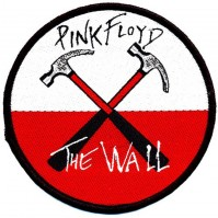 Pink Floyd Hammers White Red Clothing Patch Decal Badge Iron Sew On Official