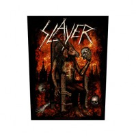 Slayer Devil On Throne Back Patch Sew On Official Badge Album Band Heavy Metal