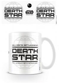 Star Wars Rogue One Death Star Disney White Tea Coffee Mug
