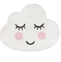 Sweet Dreams Smiling Cloud Cotton Rug Large Bath Shower Bedroom Lounge Mat