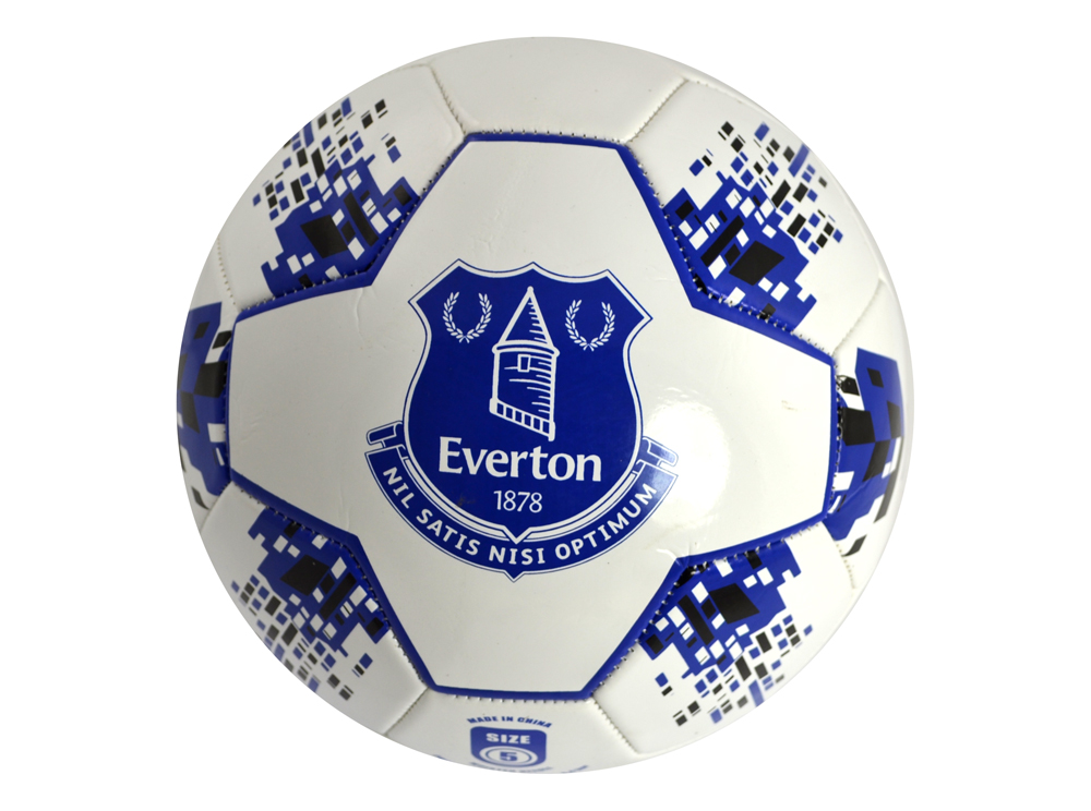 Everton FC Toffees Football Club Star Soccer Ball Blue ...