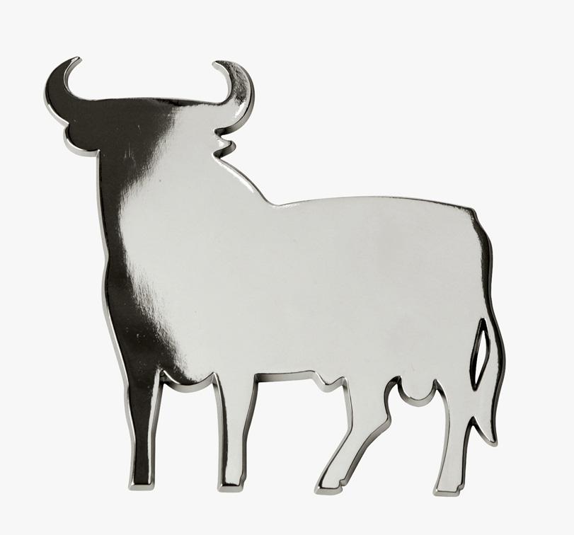 embl me de voiture chrome taureau espagnol badge logo autocollant auto adh sif 3 ebay. Black Bedroom Furniture Sets. Home Design Ideas