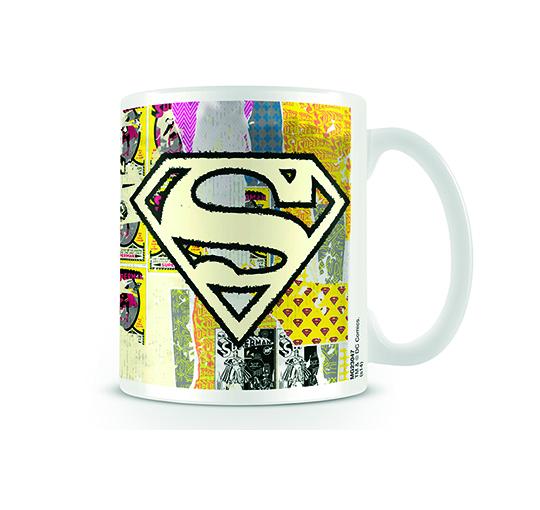 Logotipo de superman distorsionado dc comics originales - Tazas de te originales ...