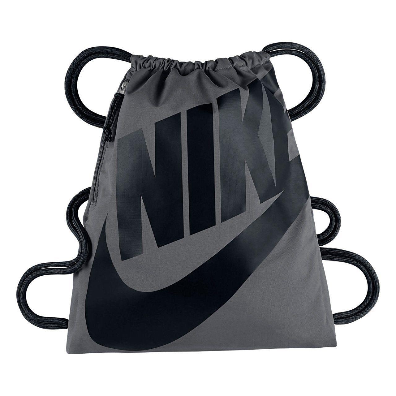 Nike Heritage Gym Bag Black Navy White Sport