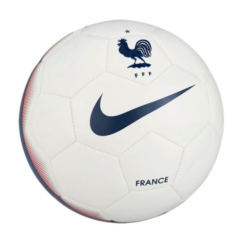 02fe67062ad Nike France Football Soccer Training Match Ball Size 5 White Blue Official.  Product Image