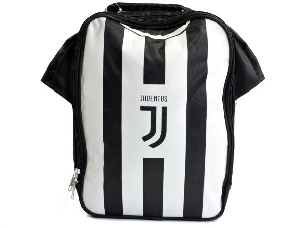big sale d88f5 23f4c Details about Juventus Football Club Official Black And White Kit Lunch Bag  School Crest Shirt
