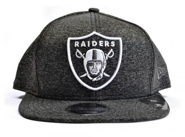 d0ebcef7a54d2 Oakland Raiders Official New Era 9FIFTY Tech Grey Snapback Cap Small-Medium  NFL