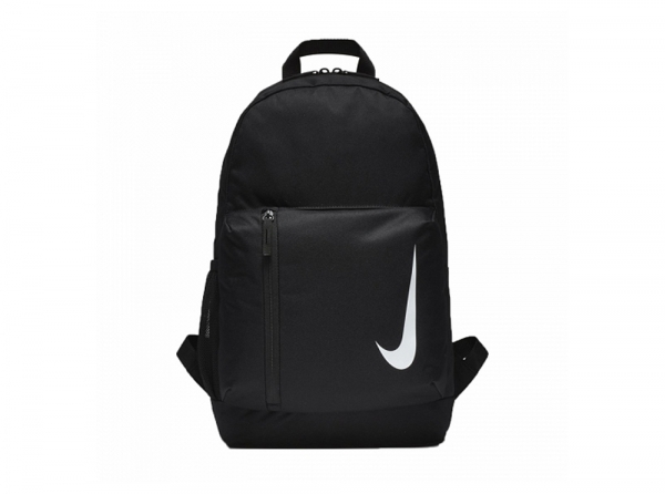 64896410bba5 Nike Academy Youth Backpack - Black Dual-zip main compartment for easy  access. Adjustable