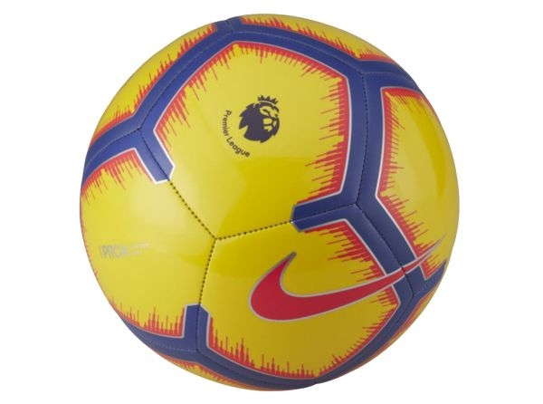 Details about Nike Official Pitch Premier League Size 5 Ball Yellow  2018-2019 Strike Football
