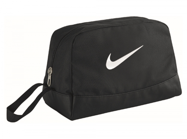 Details zu Nike Swoosh Toilettenartikel Waschbeutel Schwarz Urlaub Reise Sport Offizielles