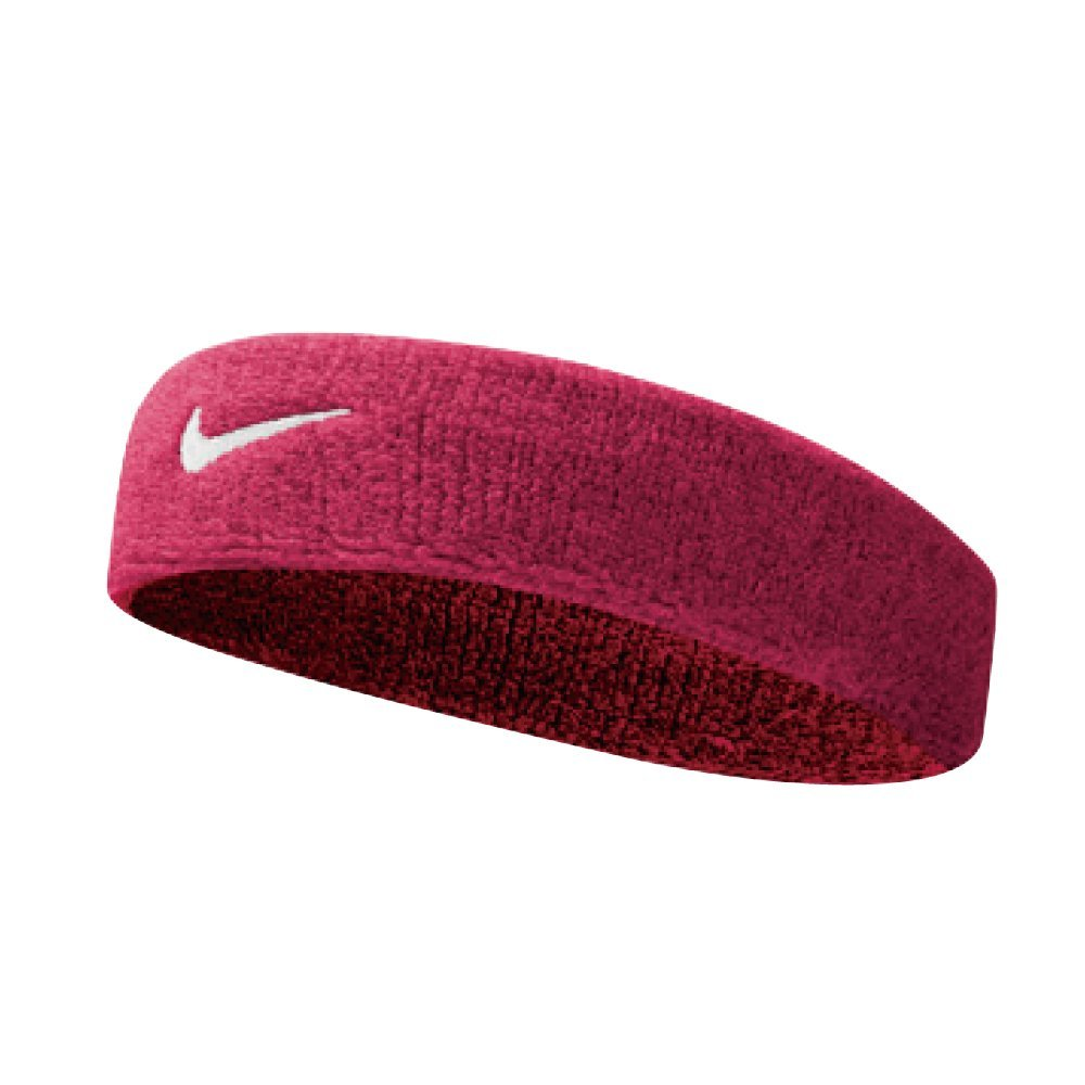 Sweatband is made of soft, absorbent cotton. With an innovative design, the sweatband allows for circulation of air which evaporates sweatband moisture for cooling effect.