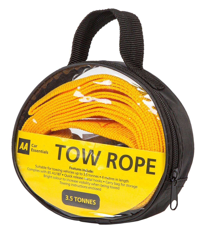 AA Cuerda de remolque resistente tipo correa 4 toneladas.