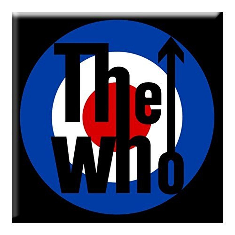 The Who Metal Steel Fridge Magnet Target Logo Album Cover Fan Official Ebay