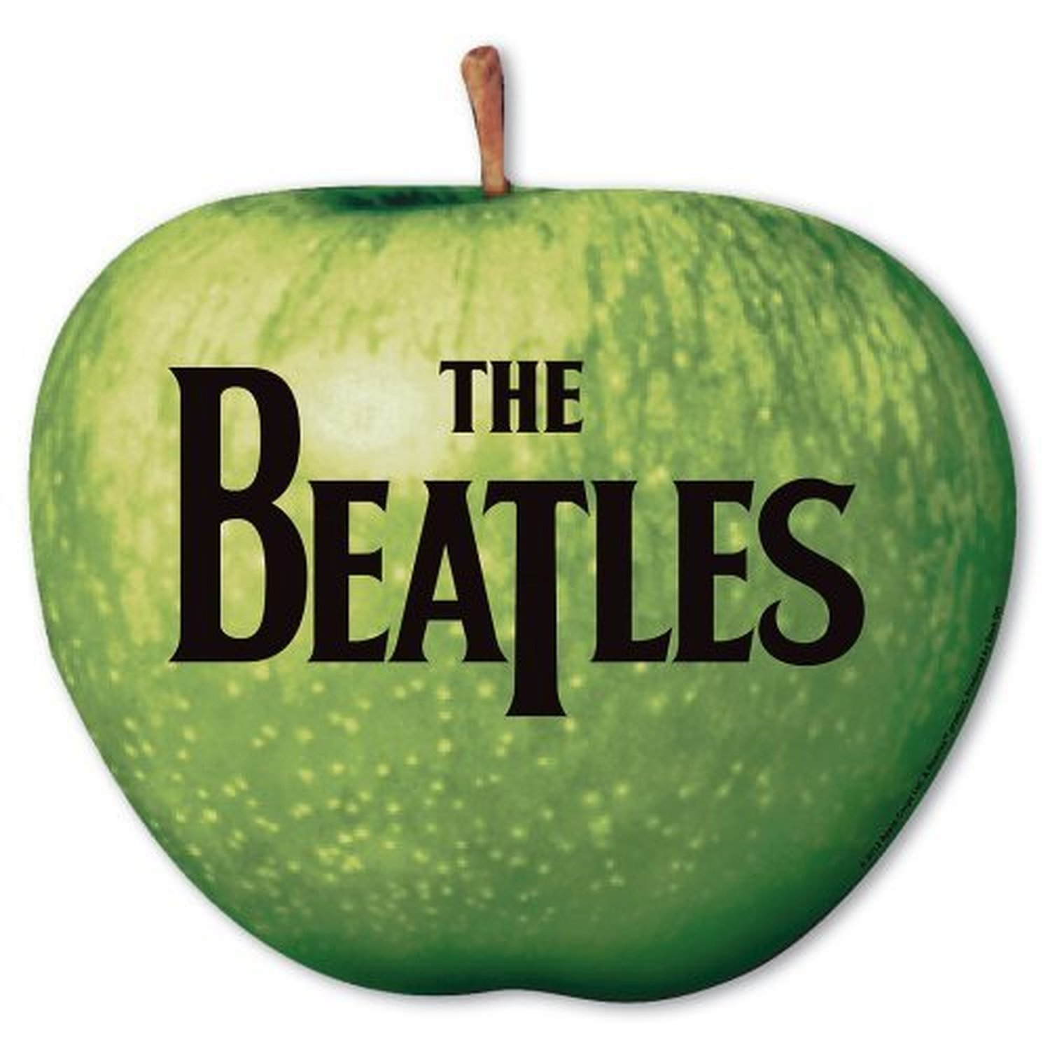 The Beatles Apple Logo Drop T Green Mouse Mat Official ...