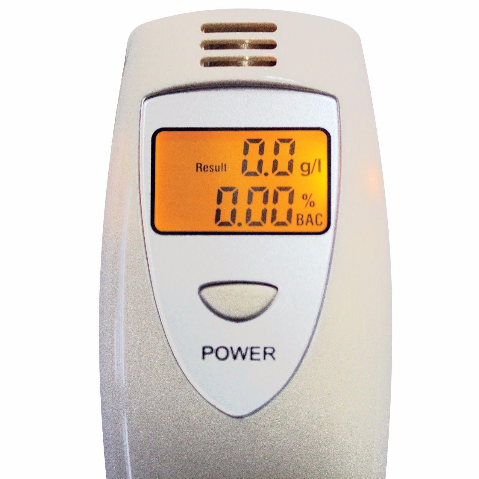 LCD Digital Alcohol Breath Tester Car Driver Drunk Checker Drink Breathalyser