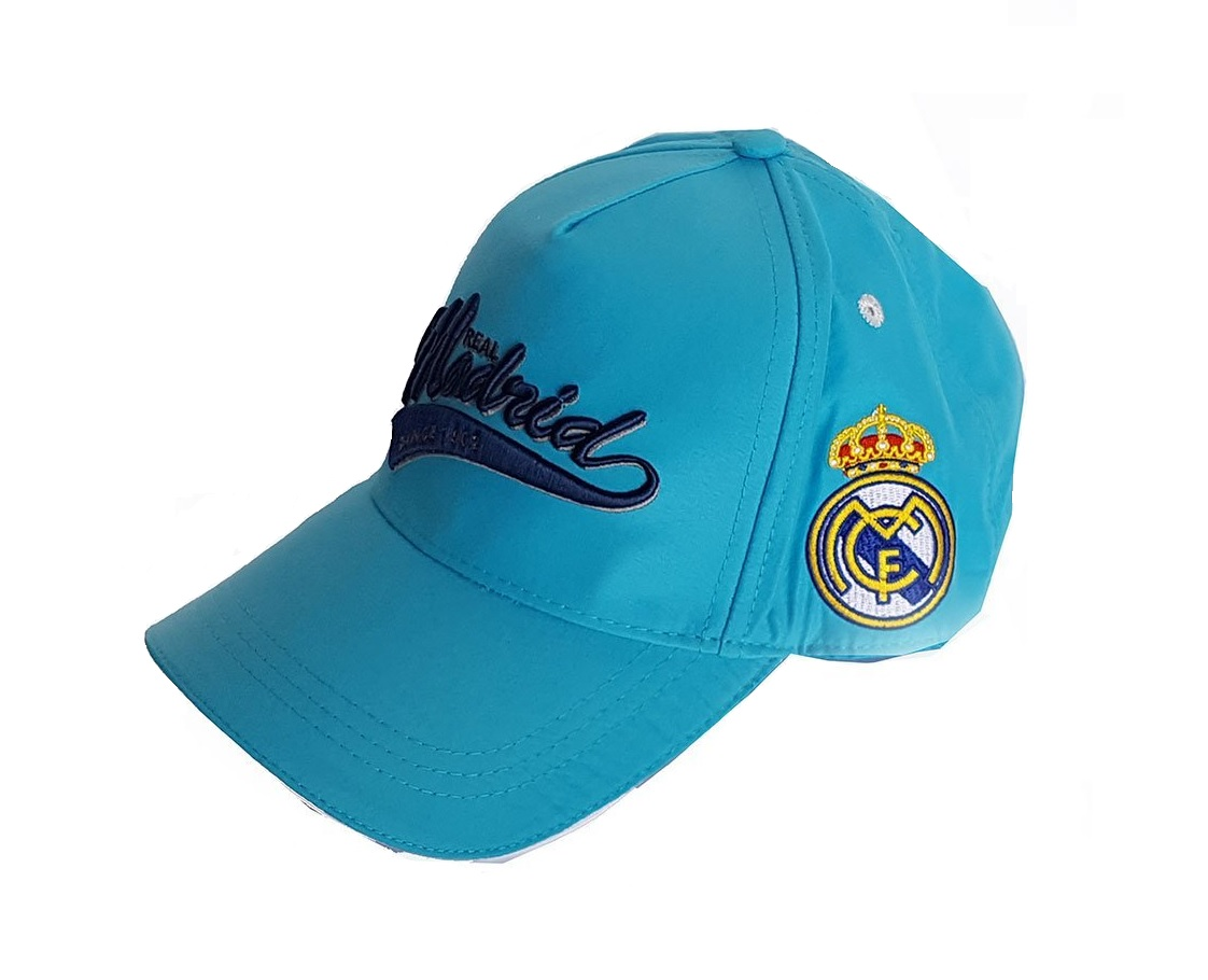 2dde16e59fd Real Madrid Classic Baseball Cap Blue Football Sun Official Product ...