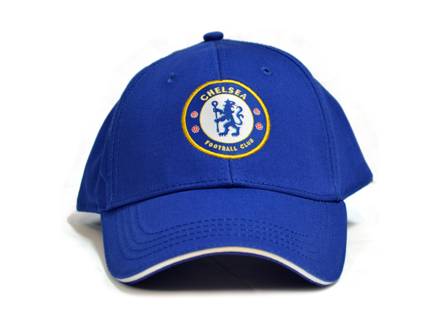 7c9c80e57a600 Chelsea FC Football Club Crest Badge Logo Royal Blue Baseball Cap Hat  Official. Product Image
