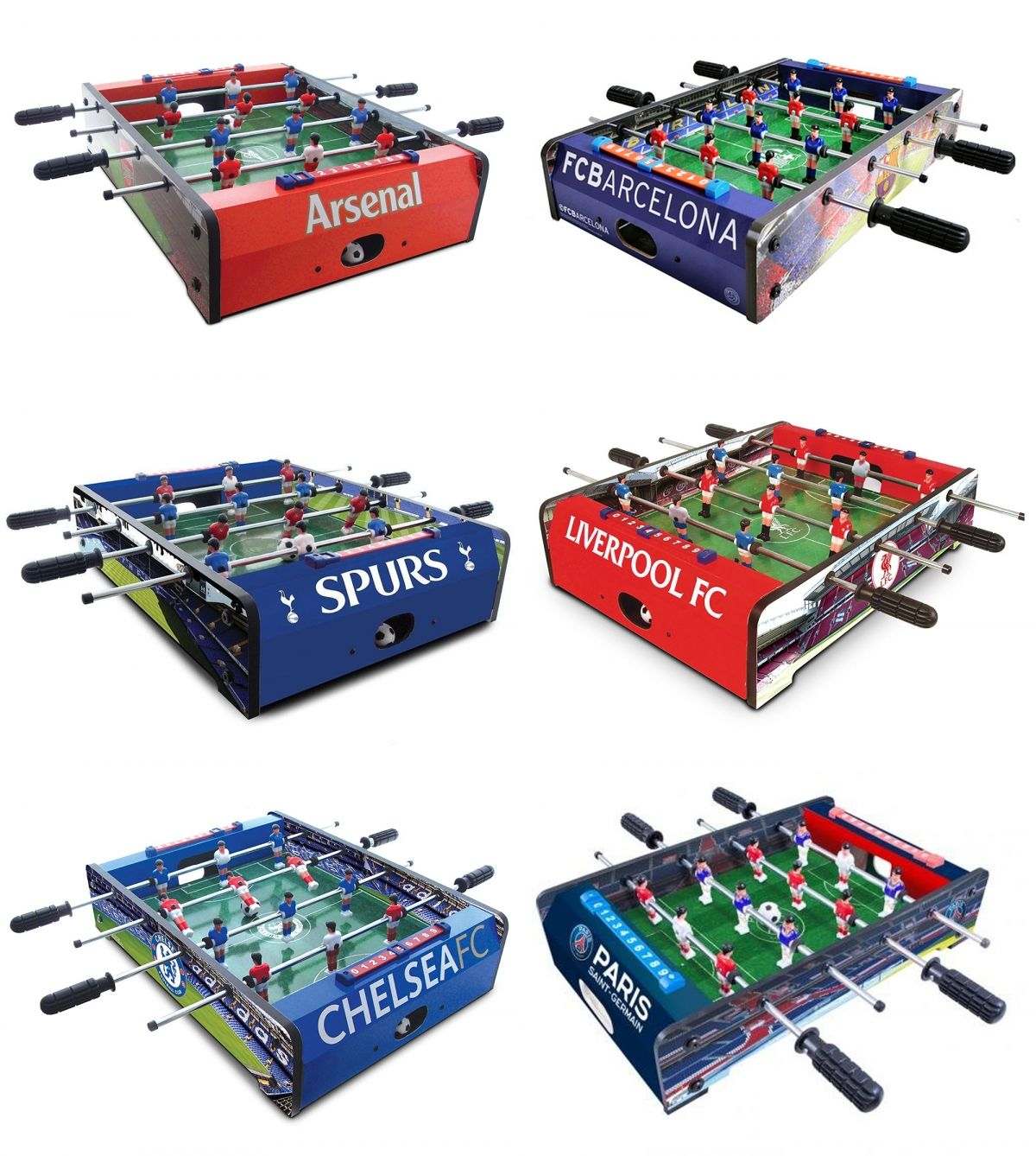 Football Club Soccer Table Top Game Fan Stadium Graphics Fussball 20 Circuit Official