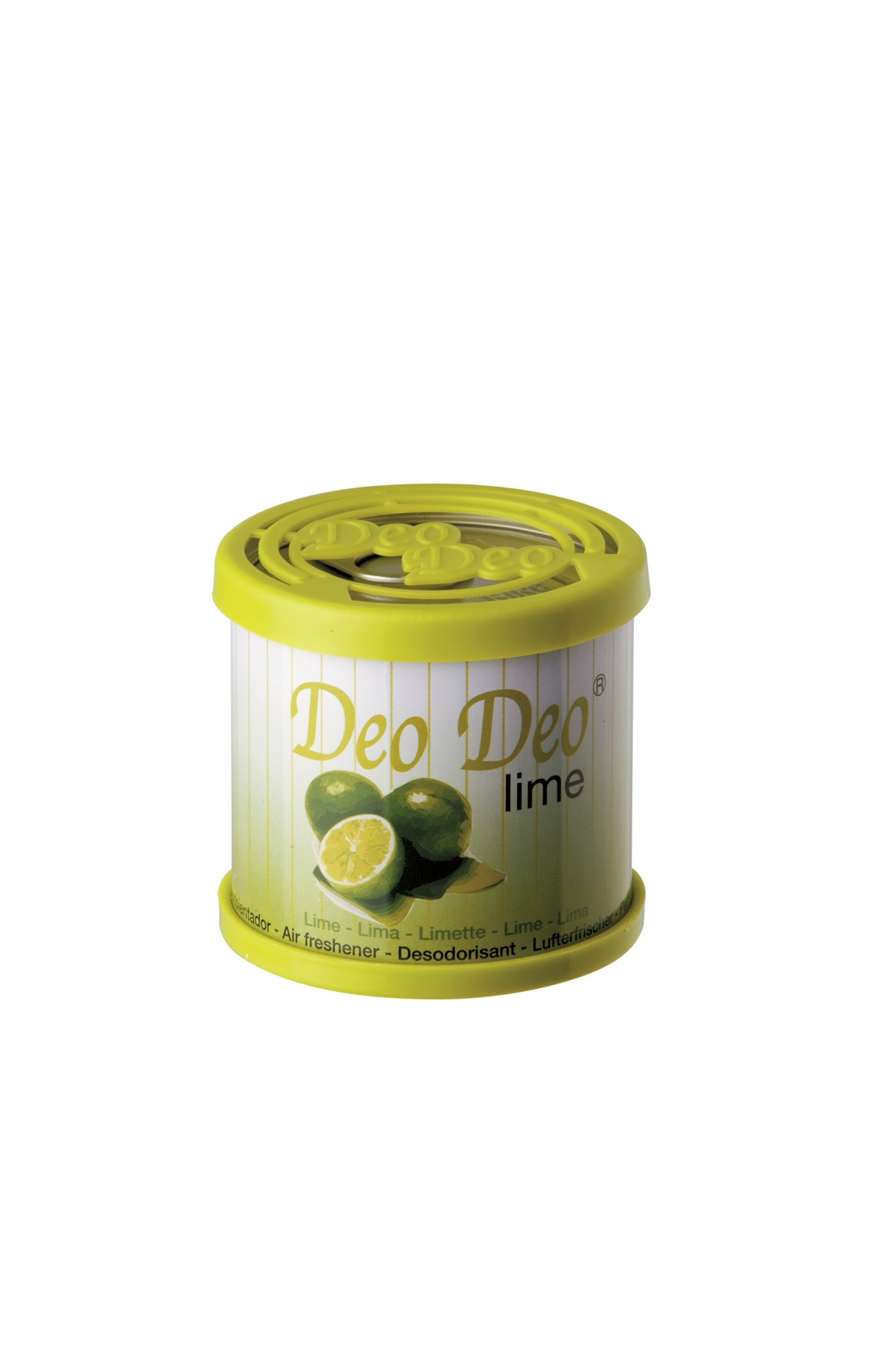 Deo Deo Lime Air Freshener Gel Can Car Home Air Freshener Sweet Smell Scent