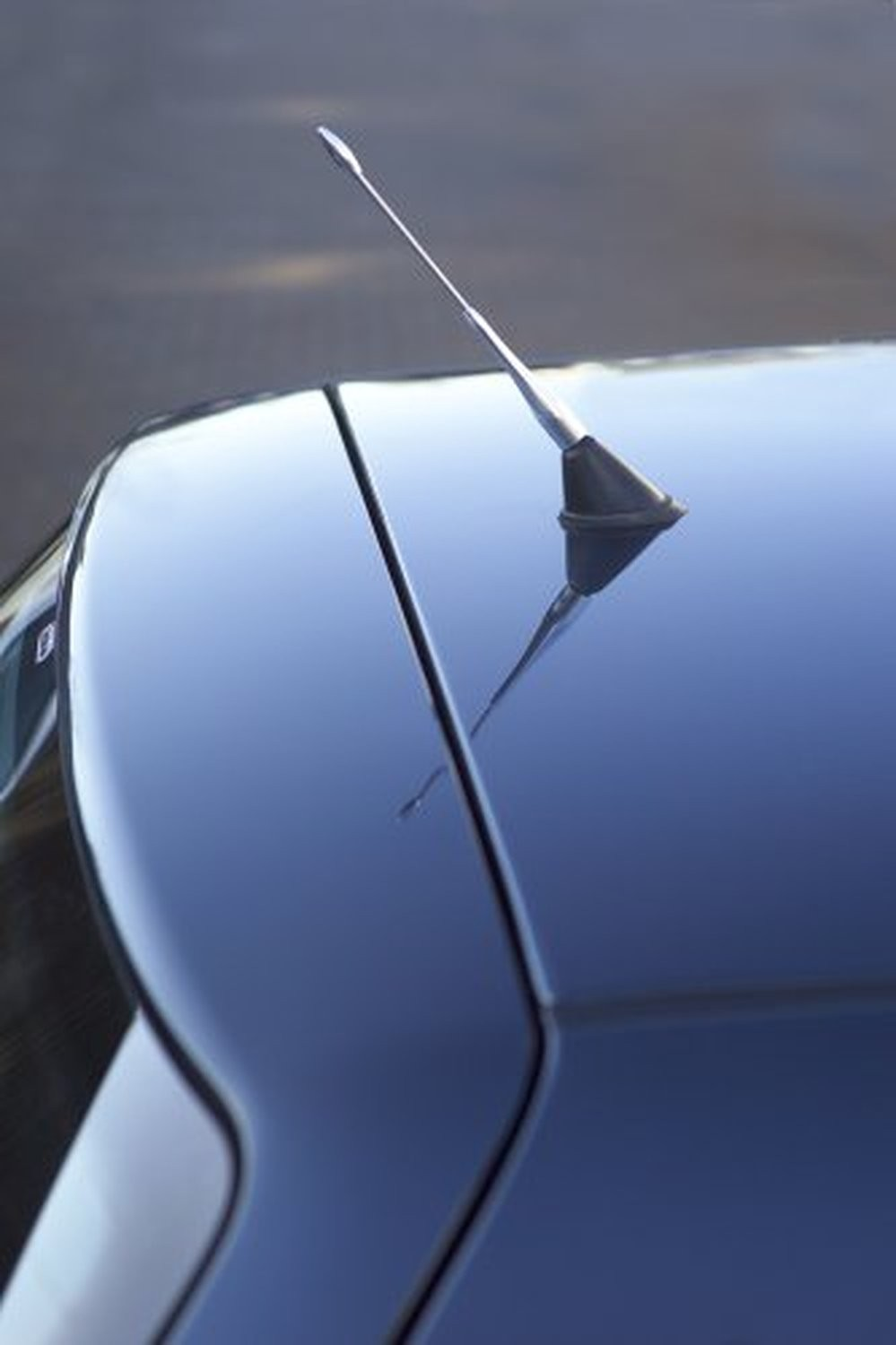 Richbrook Anti Theft Silver Car Aerial - Fits all cars