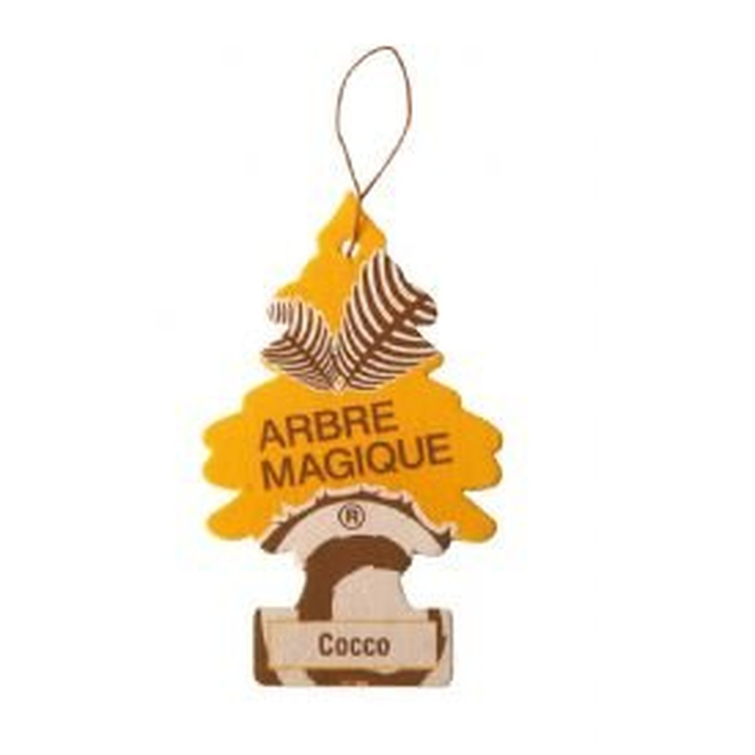 AoE Performance Magic Tree Car Air Freshener Duo Gift Pack Coconut And Leather