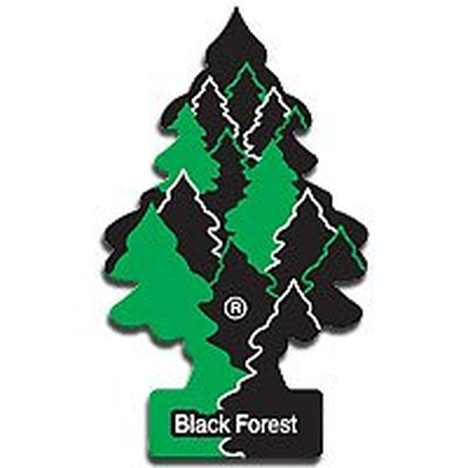 AoE Performance Magic Tree Car Air Freshener Duo Gift Pack Black Forrest And Oceans Mist
