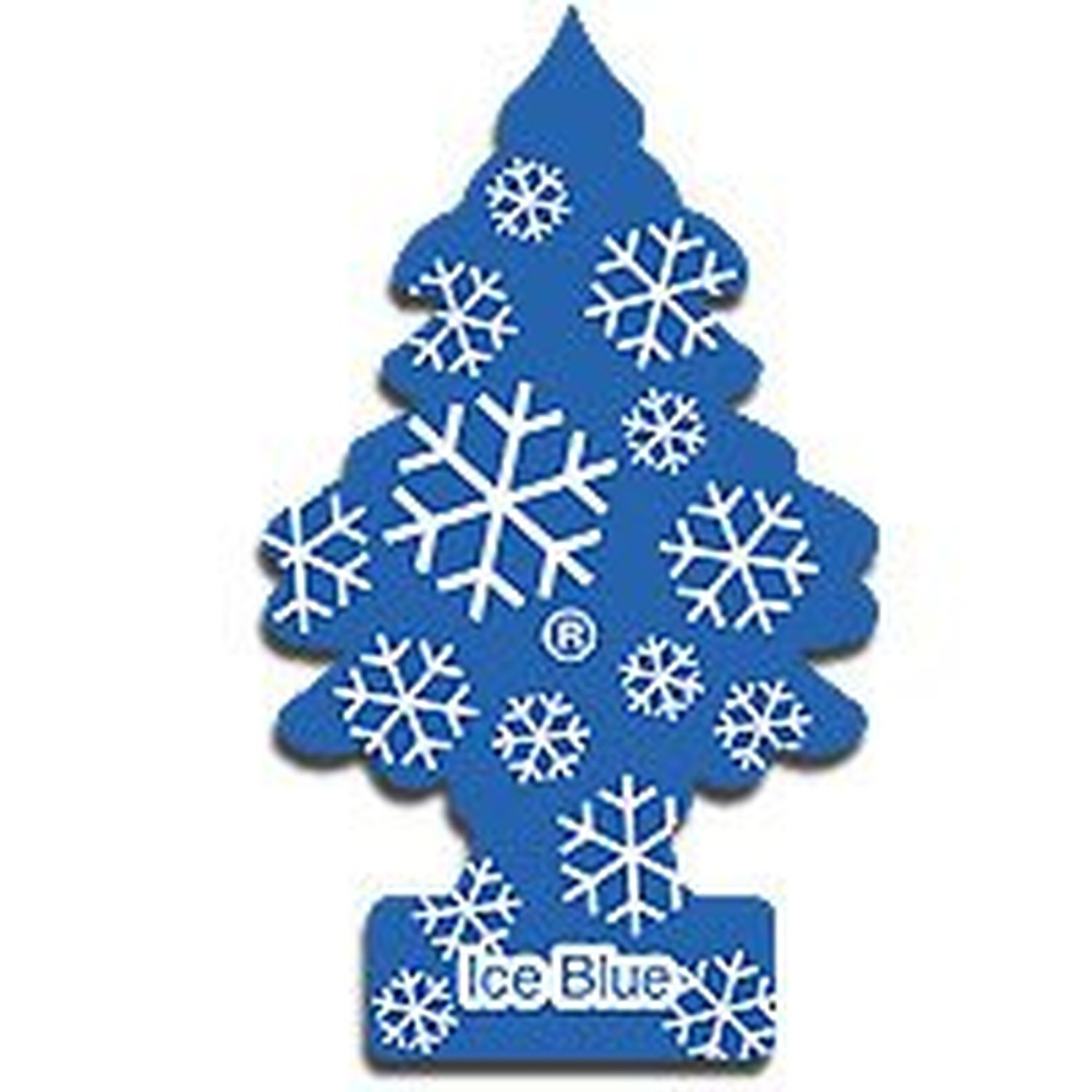 AoE Performance Magic Tree Car Air Freshener Duo Gift Pack Ice Blue And Black Ice