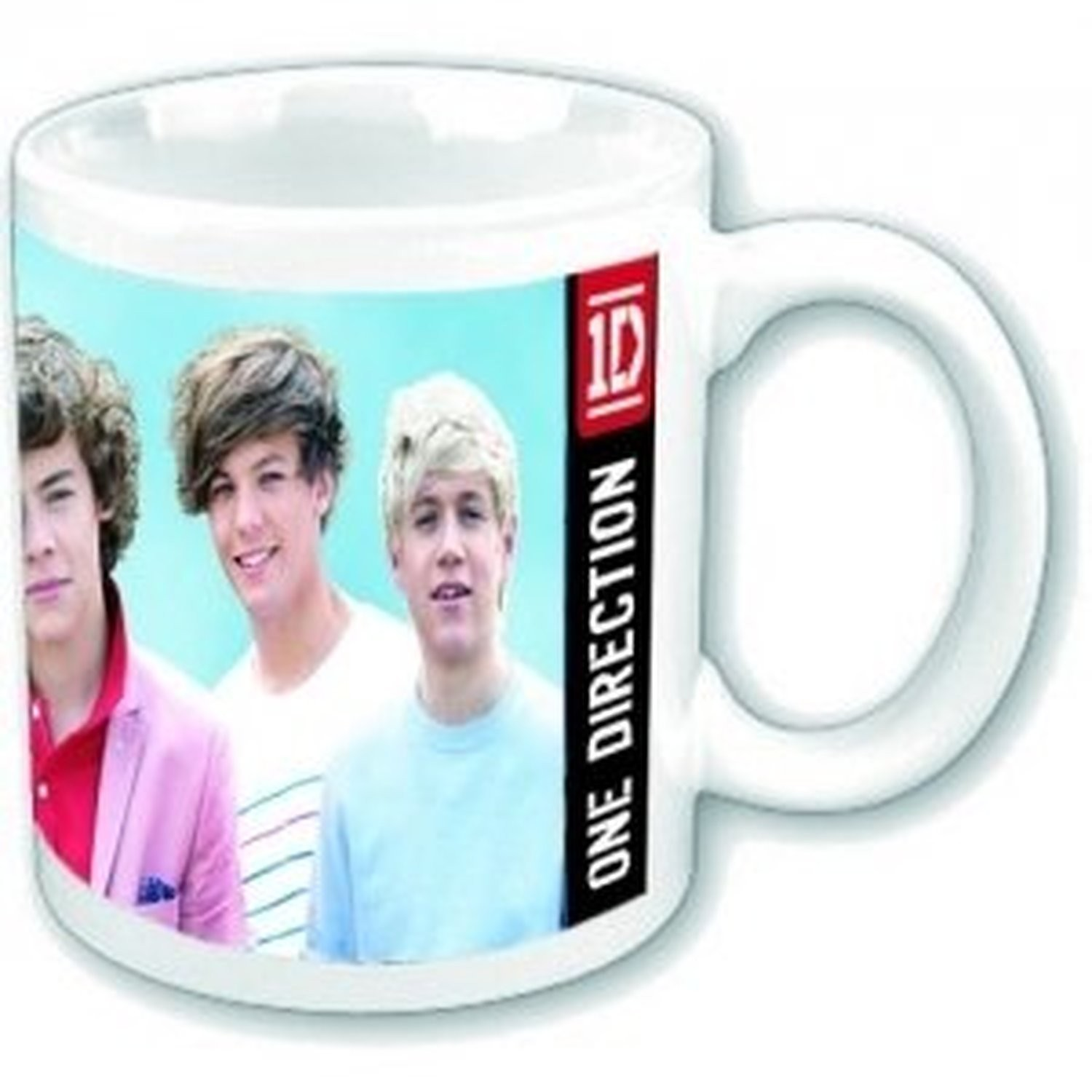 One Direction Early Days Photograph Picture White Boxed Coffee Gift Mug Cup Fan
