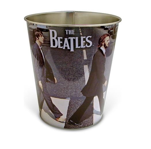 The Beatles Abbey Road Waste Paper Bin Basket Album Cover Image 100% Official