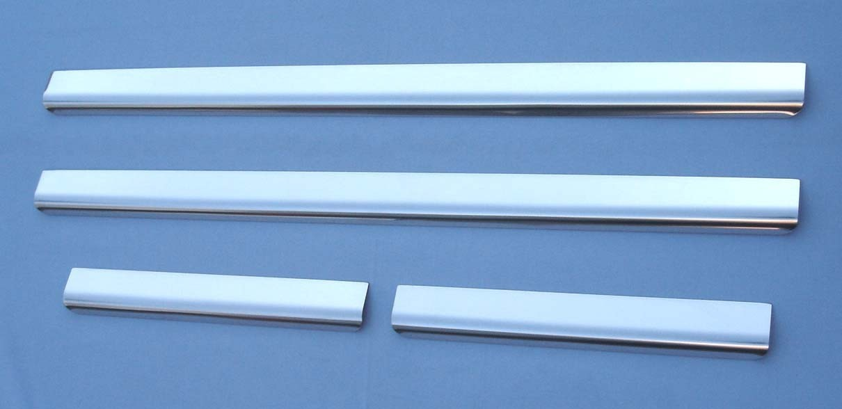 Land Rover Freelander 2 (2005+) Polished Stainless Steel Door Sill Protectors