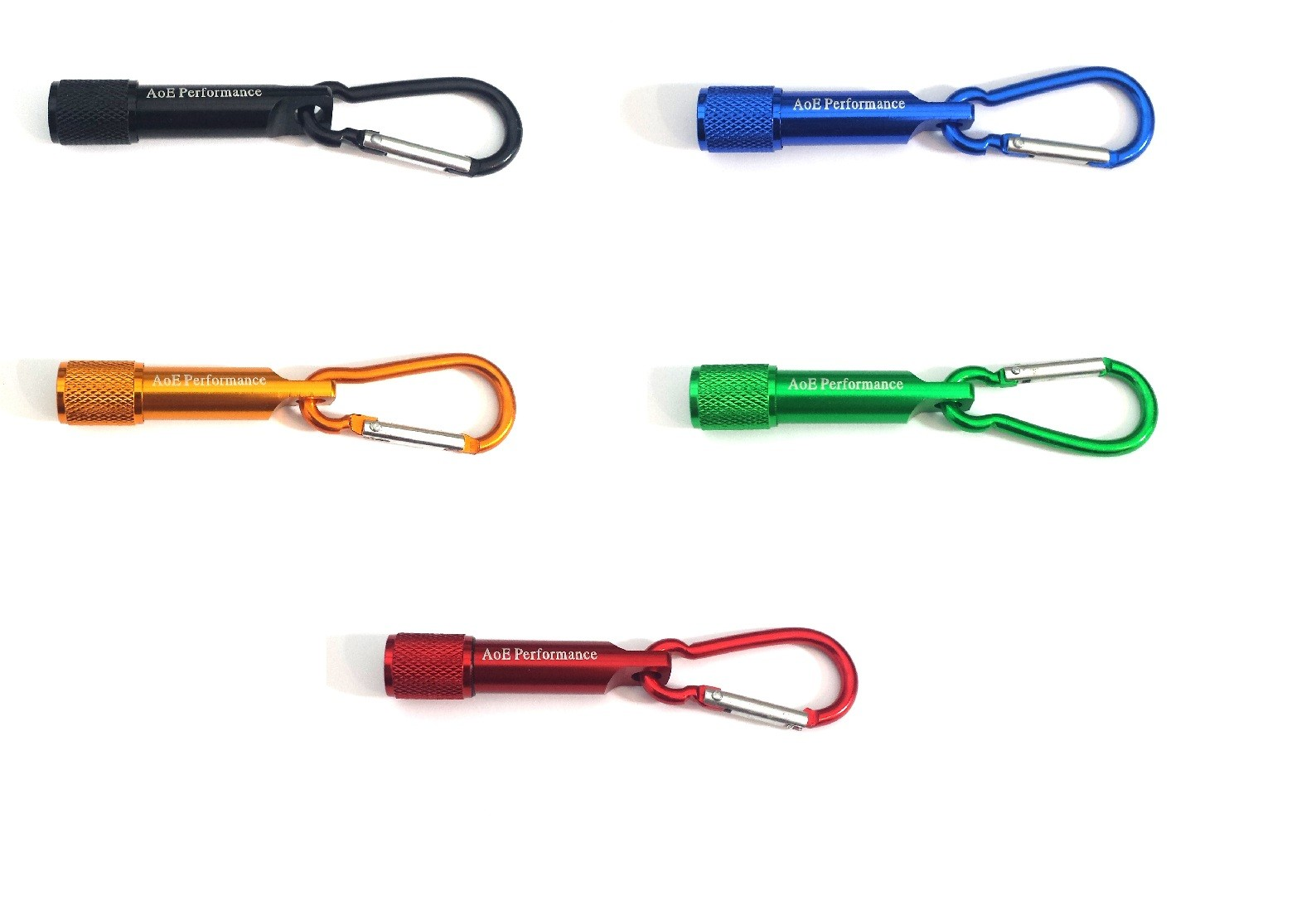 Mini LED Flashlight Torch Key Ring Chain Clip Hook Camping Outdoor Fishing Hiking Safety Emergency Lamp By AoE Performance
