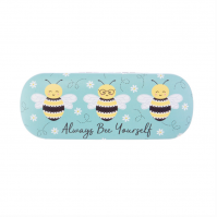 Sass And Belle Always Bee Yourself Hard Glasses Case Holder Sunglasses Happy