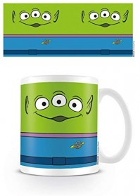 Toy Story 4 Green Aliens Ceramic Mug Cup Tea Coffee 315 MLs Woody Buzz Pizzeria