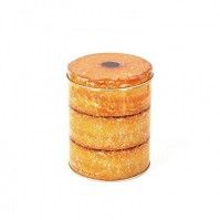 Good Enough To Eat Storage Tin Sugar Jam Doughnuts Baking Novelty Large Canister