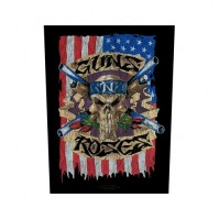 Guns N' Roses Back Patch American Flag Sew On Official Badge Album Skull