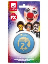 Pale Blue Face Paint Make Up FX Unisex Fancy Dress Accessory