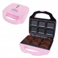 Pink Chocolate Electric Brownie Maker Kitchen None Stick Girly Gift Funky