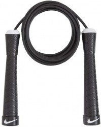 Nike Fundamental Weighted Black Speed Rope Skipping Fitness Exercise Gym Workout