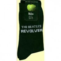 The Beatles Revolver Album Logo Black Womens Ladies Girls Socks 4-7 Fan Official