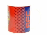 Arsenal FC Red Blue Fade Design Football Fan Gift Boxed Mug Cup Badge Official