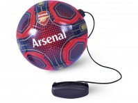 Arsenal FC Skills Practice Training Ball Size 2 Red Blue And Gold With Crest