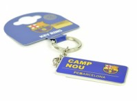 Barcelona FCB Official Fan Key Ring 'Camp Nou FCB Barcelona' Cret Fan Merchandise
